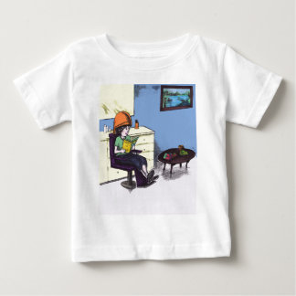 Drying Hair in a Beauty Salon Baby T-Shirt