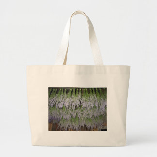 Drying Provence French Lavender Large Tote Bag