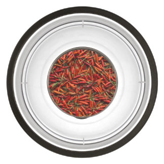 Drying Red Hot Chili Peppers Bowl
