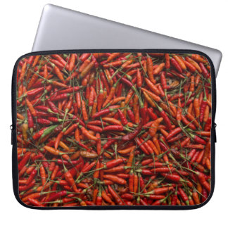 Drying Red Hot Chili Peppers Computer Sleeve