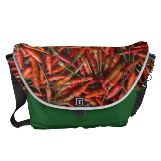 Drying Red Hot Chili Peppers Messenger Bag