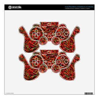 Drying Red Hot Chili Peppers PS3 Controller Decal