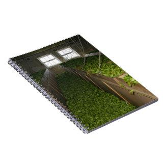 Drying tea leaves notebook