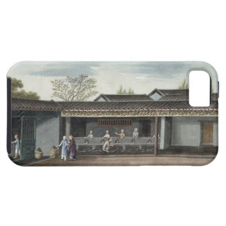 Drying tea leaves (w/c on paper) iPhone SE/5/5s case