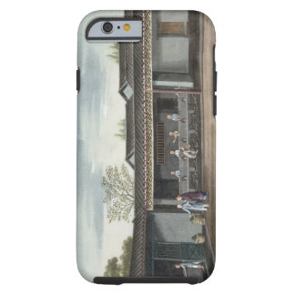 Drying tea leaves (w/c on paper) tough iPhone 6 case
