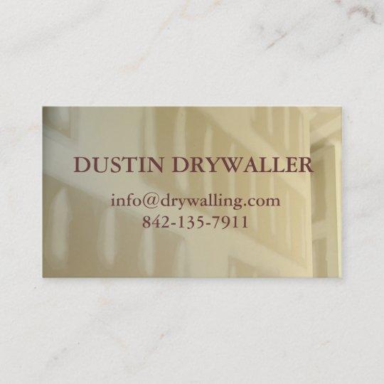Drywall Business Card Zazzle