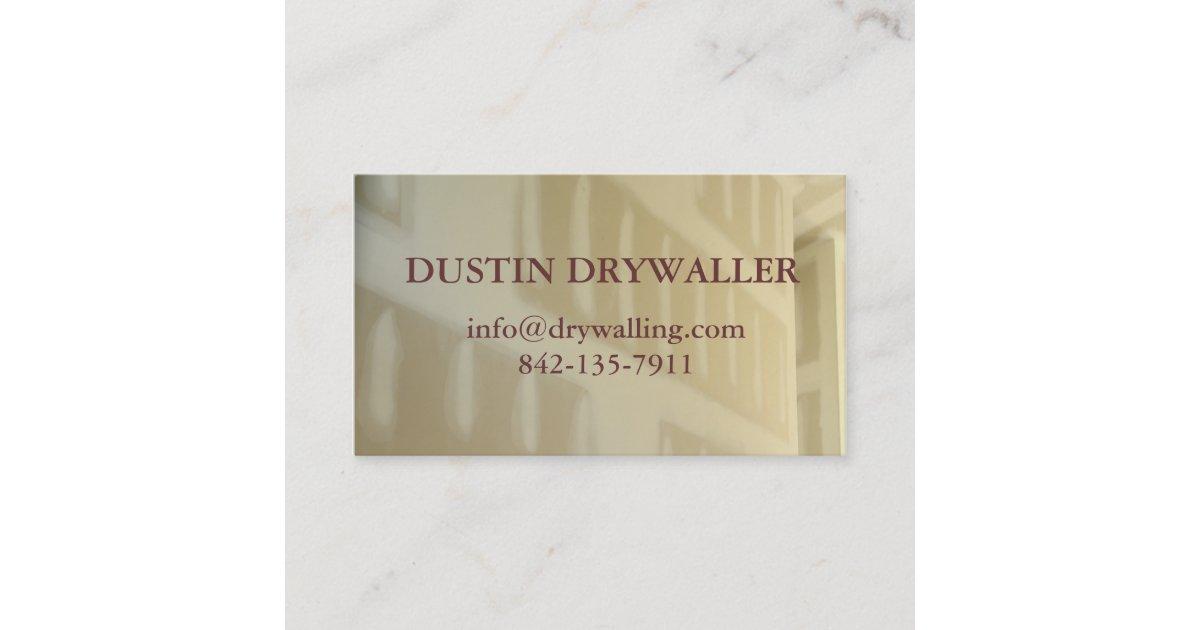 drywall business card | Zazzle.com