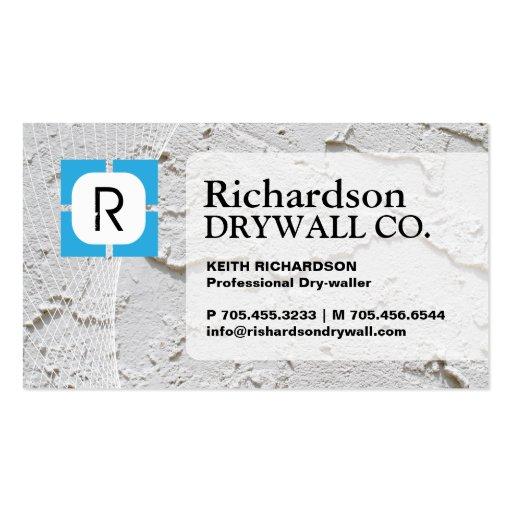 Drywall Business Business Card Templates Bizcardstudio