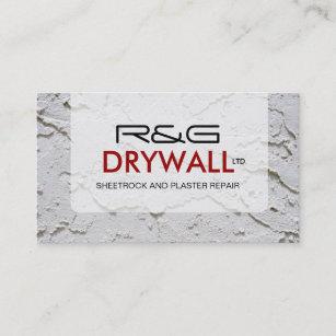 Drywall business cards zazzle drywall company business card flashek Choice Image
