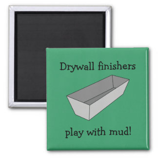 Drywall Finishers Play With Mud Magnet