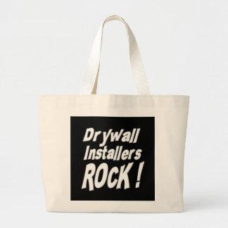 Drywall Installers Rock! Tote Bag