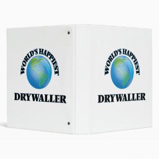 Drywaller más feliz del mundo carpeta 2,5 cm