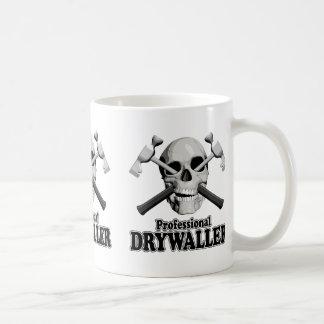 Drywaller profesional taza