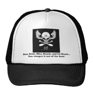 DS9, Boat, Drink, Bike, Drank, and I'm Drunk...... Trucker Hat
