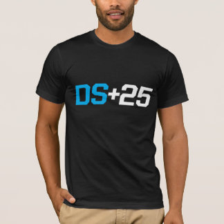 DS+25: Black T-Shirt