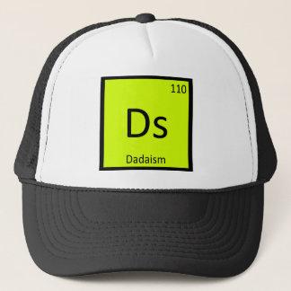 Ds - Dadaism Art Chemistry Periodic Table Symbol Trucker Hat