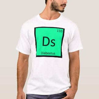 Ds - Diabeetus Meme Chemistry Periodic Table T-Shirt