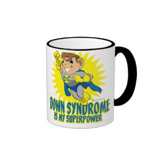 DS Is My Superpower Ringer Coffee Mug