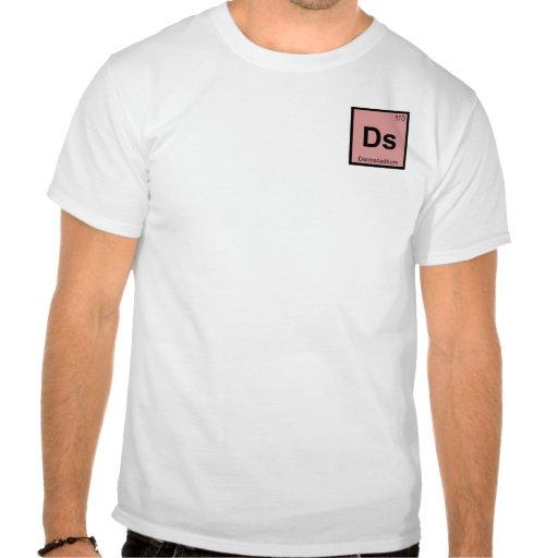 Ds - Símbolo de la tabla periódica de la química d Camiseta