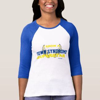 """DS Support Tshirt, """"...Down Syndrome Superstar"""" T-Shirt"""