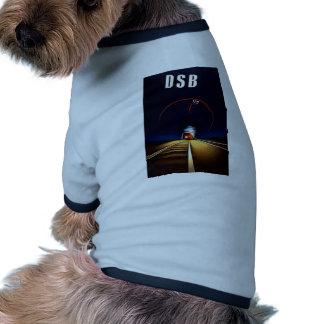 DSB Danske Statsbaner Danish State Railways Train Dog Shirt