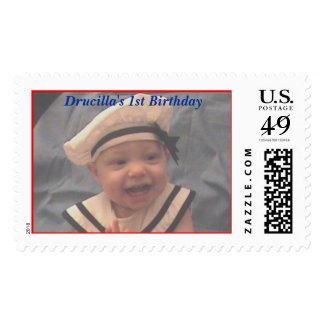 DSC00007a, Drucilla's 1st Birthday Stamps