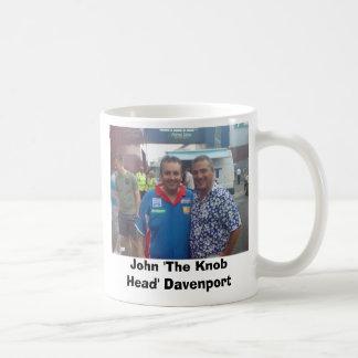 DSC00081, John 'The Knob Head' Davenport Coffee Mug