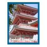 DSC00130, pagoda en Kiyomizudera Postales