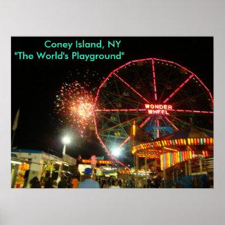 """DSC00279,           Coney Island, NY """" el mundo… Impresiones"""