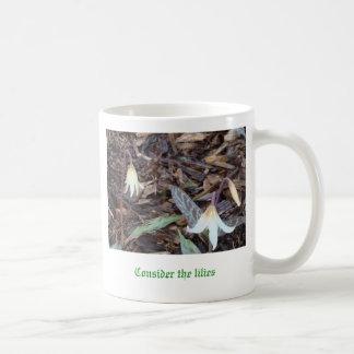 DSC00362, Consider the lilies Classic White Coffee Mug