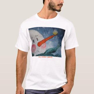 DSC00472, my winter perch T-Shirt
