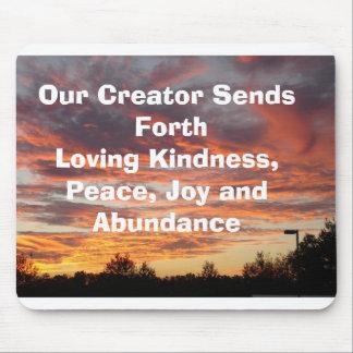 DSC00949, Our Creator Sends Forth Loving Kindne... Mouse Pad