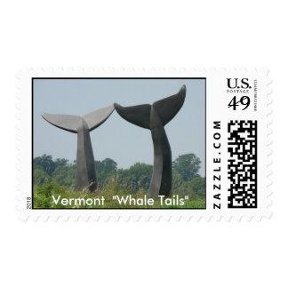 """DSC00955, Vermont """"colas de la ballena """" Estampillas"""