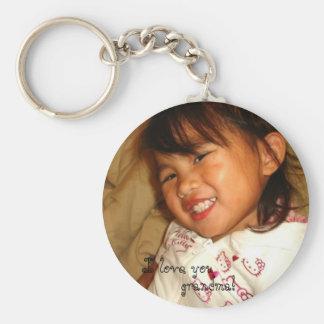 DSC01317, I love you, grandma! Keychain
