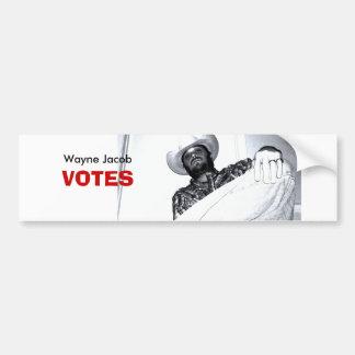 DSC01507 Wayne Jacob VOTES Bumper Stickers