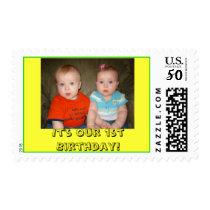 DSC03304, It's Our 1st Birthday! Postage