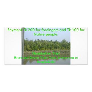 DSC03342, Shundorbon Trip!River and Green Tour ... Rack Card