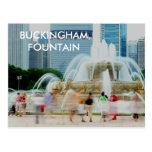 DSC04557, BUCKINGHAM FOUNTAIN POST CARD