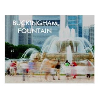 DSC04557 BUCKINGHAM FOUNTAIN POST CARD
