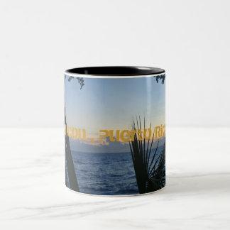 DSC04706, Rincon , Puerto Rico Two-Tone Coffee Mug