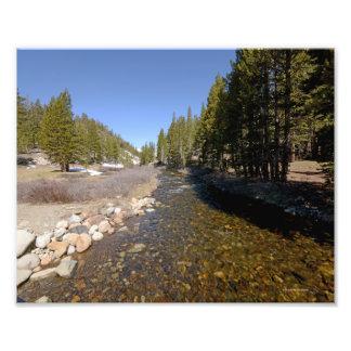 DSC3934 Mountain stream in Yosemite Park 5/13 Photo Print