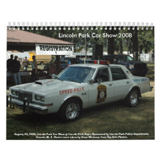DSC_0006, August, 24, 2008, Lincoln Park Car Sh... Calendar