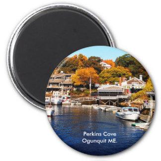 DSC_0012, Perkins Cove Ogunquit ME. 2 Inch Round Magnet