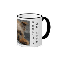 DSC_0014a, BRUSSELS, GRIFFON Ringer Coffee Mug
