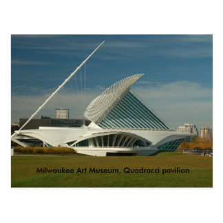 DSC_0127, museo de arte de Milwaukee, pabellón de Tarjeta Postal