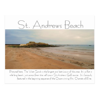 DSC_0217, playa de Saint Andrews, representada Postales