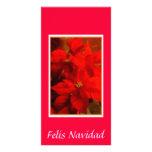 DSC_0495, Felis Navidad Tarjeta Con Foto Personalizada