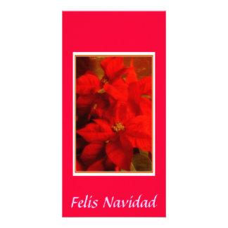 DSC_0495, Felis Navidad Tarjeta Personal Con Foto