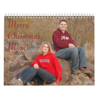 ¡DSC_0614, MerryChristmas, mamá! Calendario De Pared