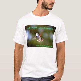 DSC_0922, BIRDWATCHERS LOVE A LITTLE HUMMER, ww... T-Shirt